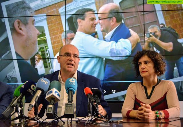Anselmo Pestana se despide como miembro del Cabildo en una emotiva rueda de prensa