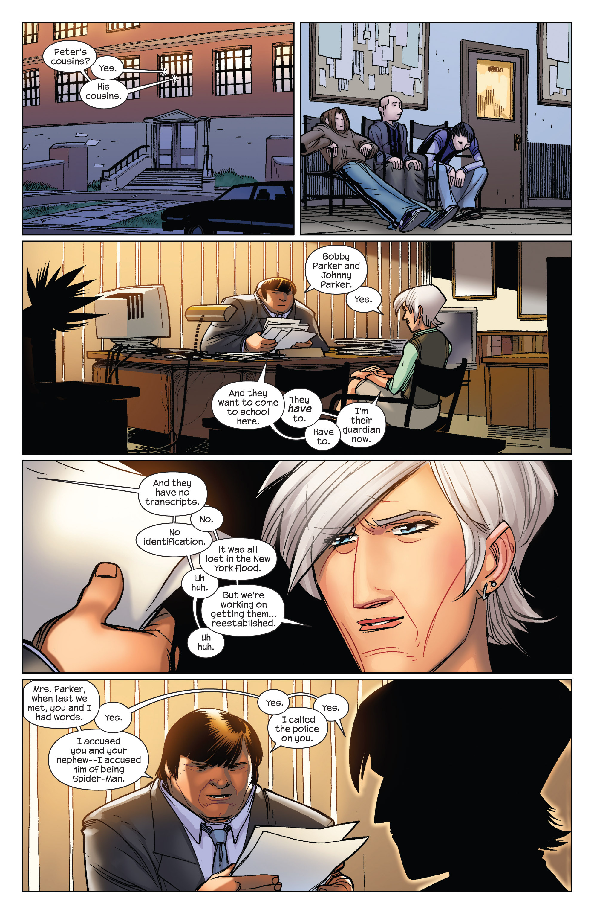 Read online Ultimate Spider-Man (2009) comic -  Issue #6 - 6