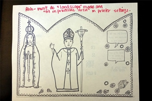 Image Result For Pope Coloring Page
