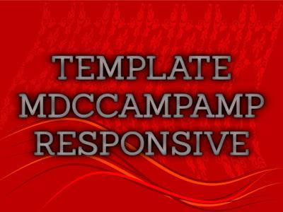 Template Terbaru 2017 MDC Camp AMP Blogger Seo Responsive Download Gratis