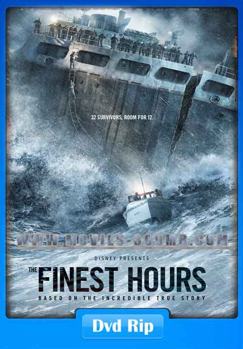 The Finest Hours 2016 DVDRip 400MB Poster