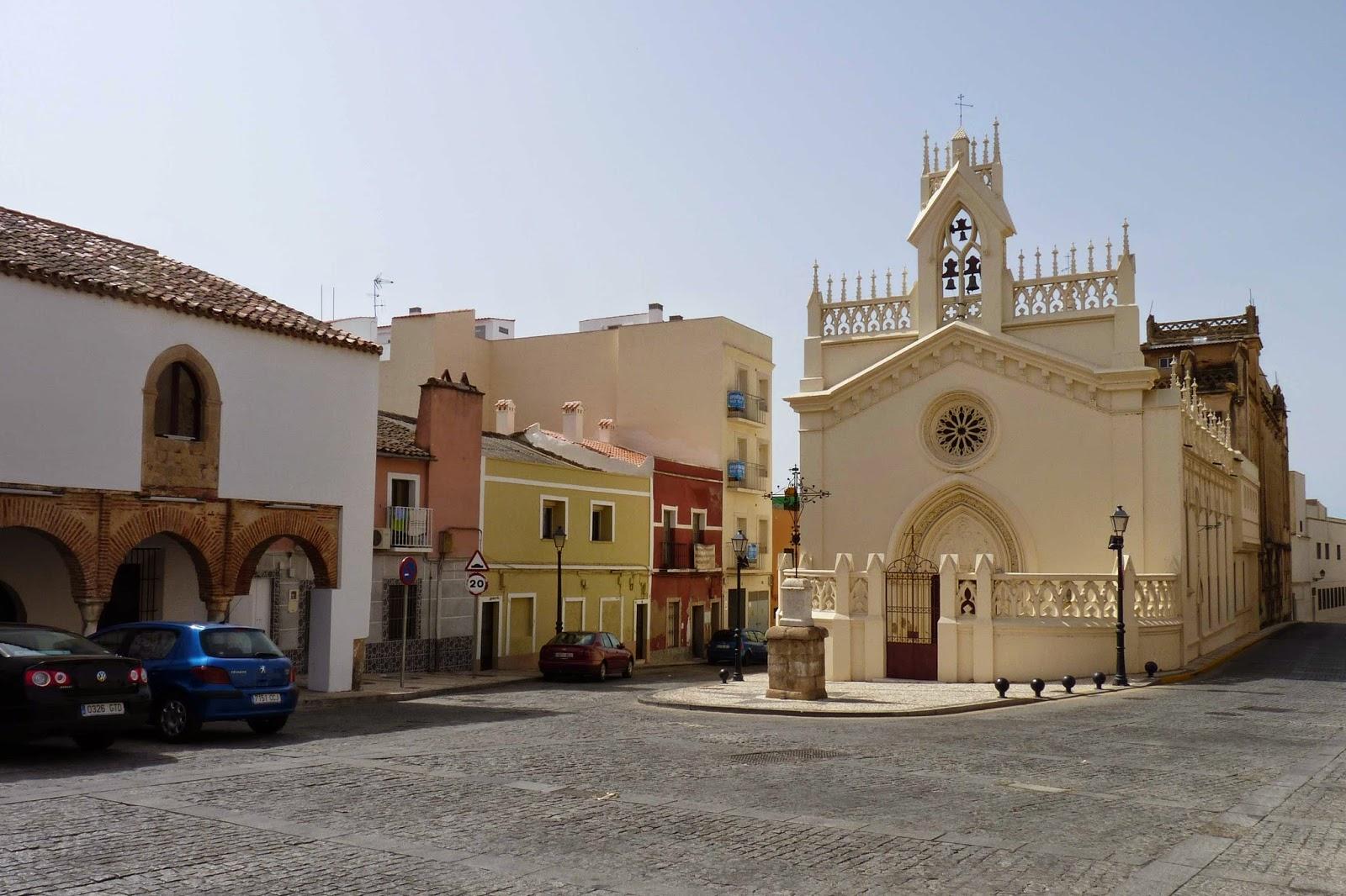 Badajoz, Convento de las Madres Adoratrices.