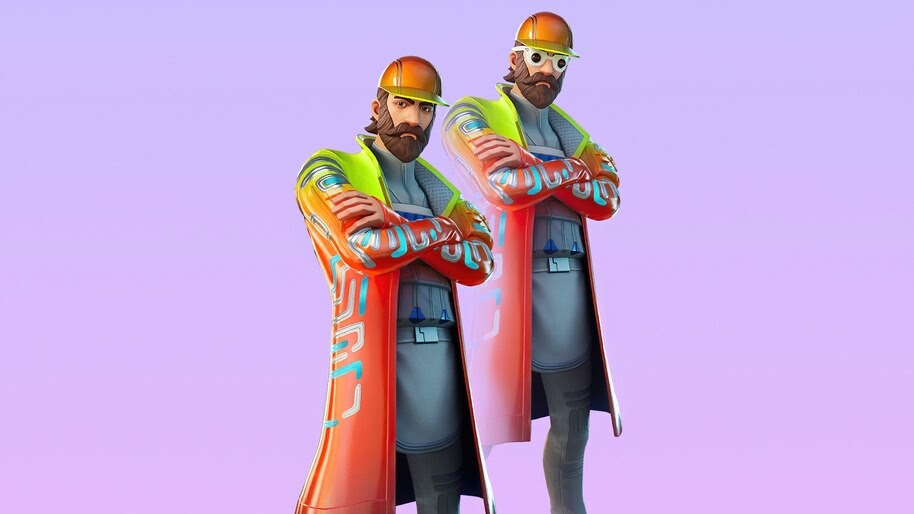Synth, Fortnite, Skin, Outfit, 4K, #7.1901