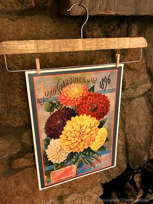 Rustic Seed Packet Print