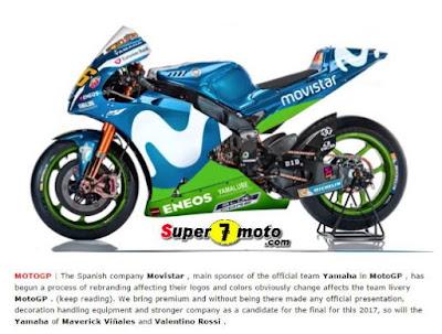 Media Spanyol Bocorkan Penampakan Motor Yamaha Baru Rossi untuk MotoGP 2017