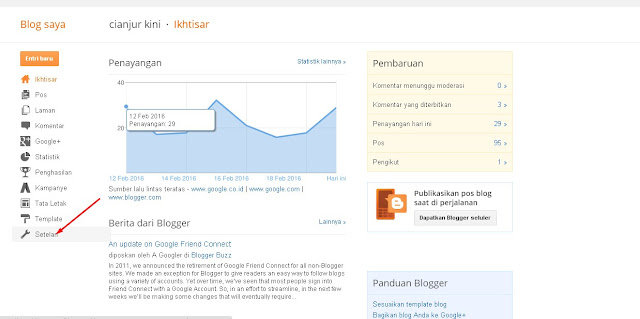 Cara setting domain blogspot rumahweb