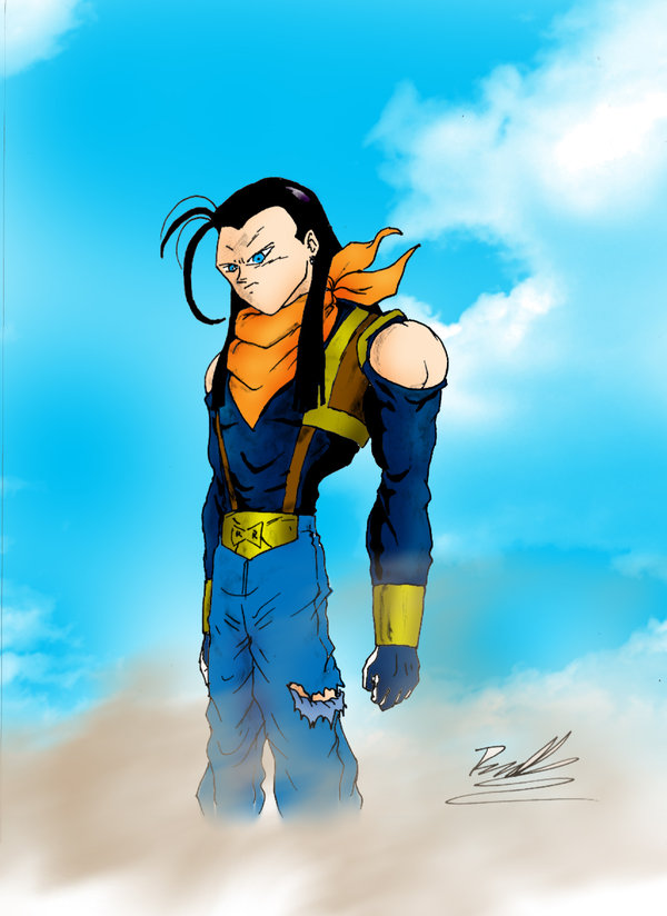 17 Super Basic Eye Makeup Ideas For Beginners: DRAGON BALL Z WALLPAPERS: ANDROID 17