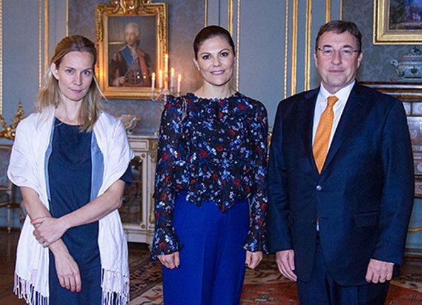 Crown Princess Victoria met UNDP Administrator Achim Steiner and UNDP Sweden representative Caroline Aberg