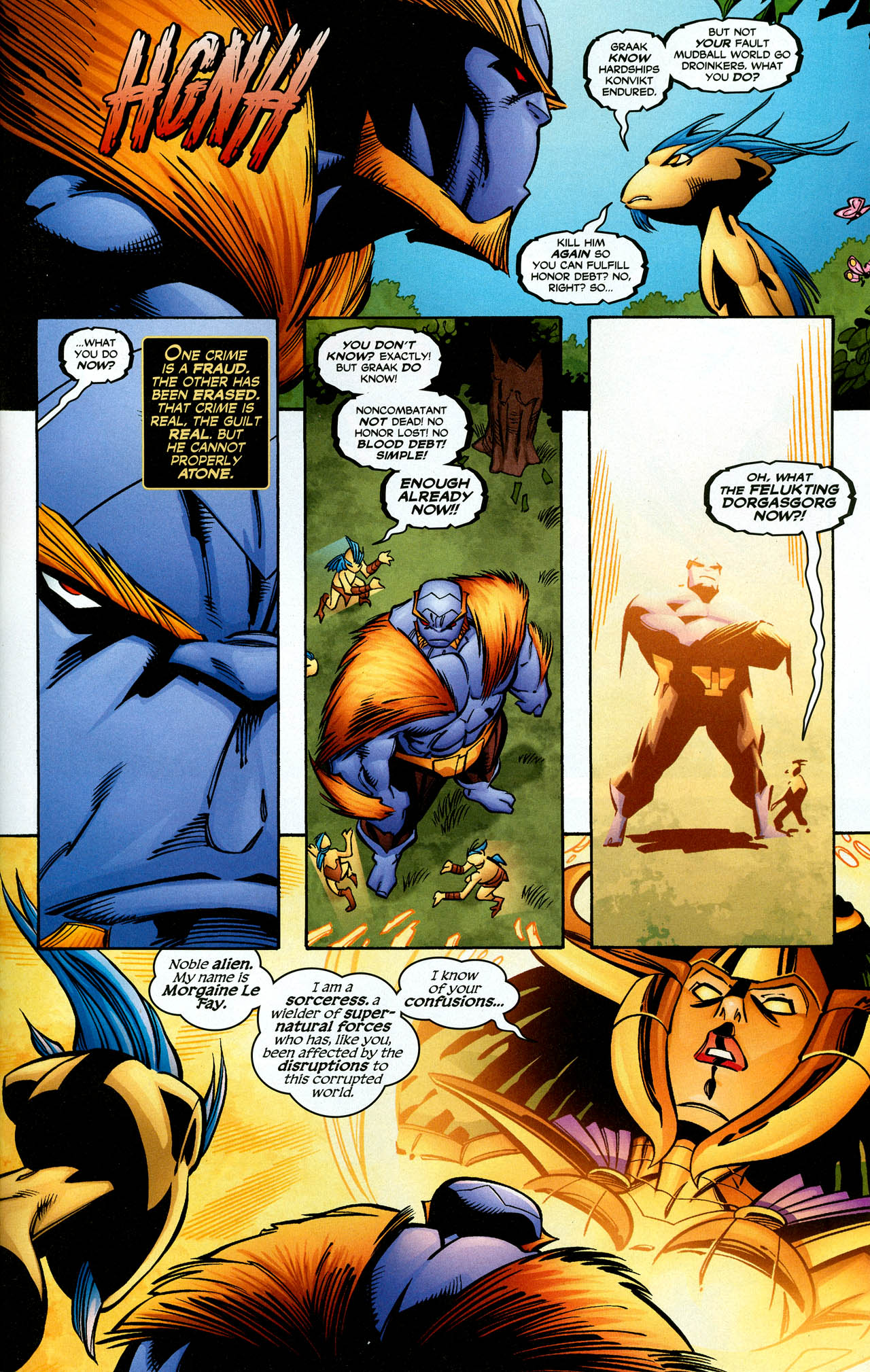 Read online Trinity (2008) comic -  Issue #26 - 31