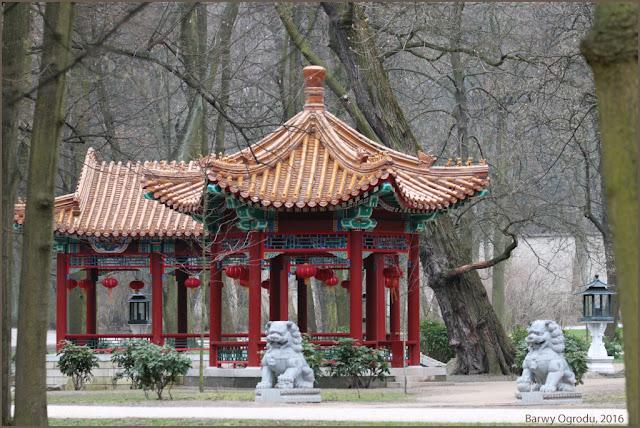 ogród chiński Łazienki