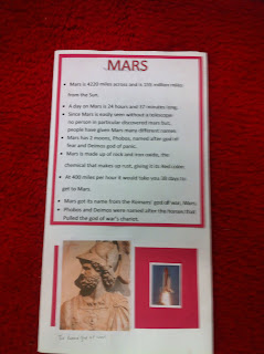 Mrs Thomas 5th Grade Class Planet Brochure Project