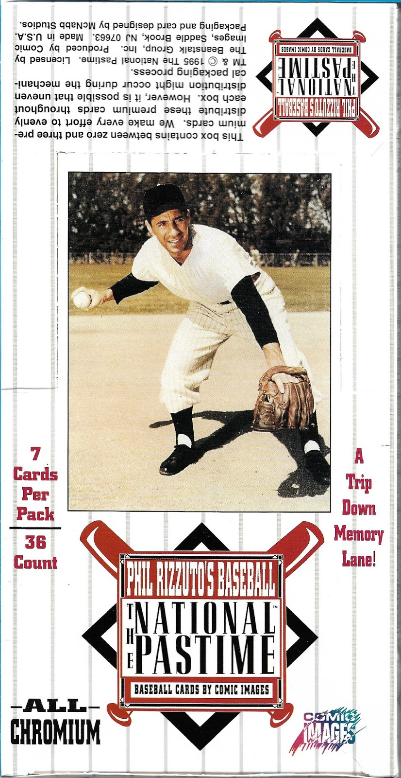 Dawg Day Cards: Box Break and Contest - Comic Images Phil Rizzuto\'s ...
