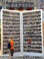 memes elegir cerveza humor