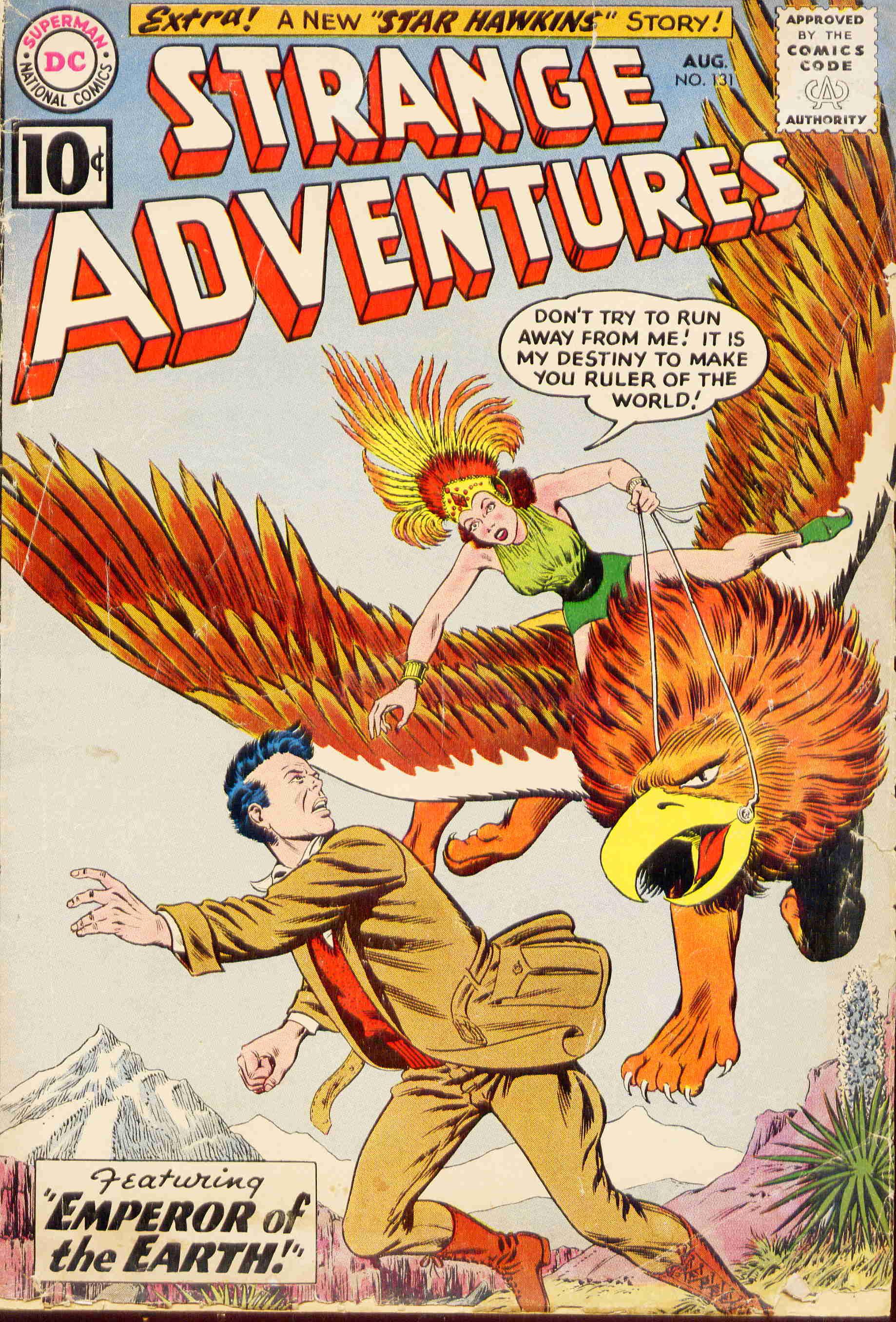 Strange Adventures (1950) issue 131 - Page 1