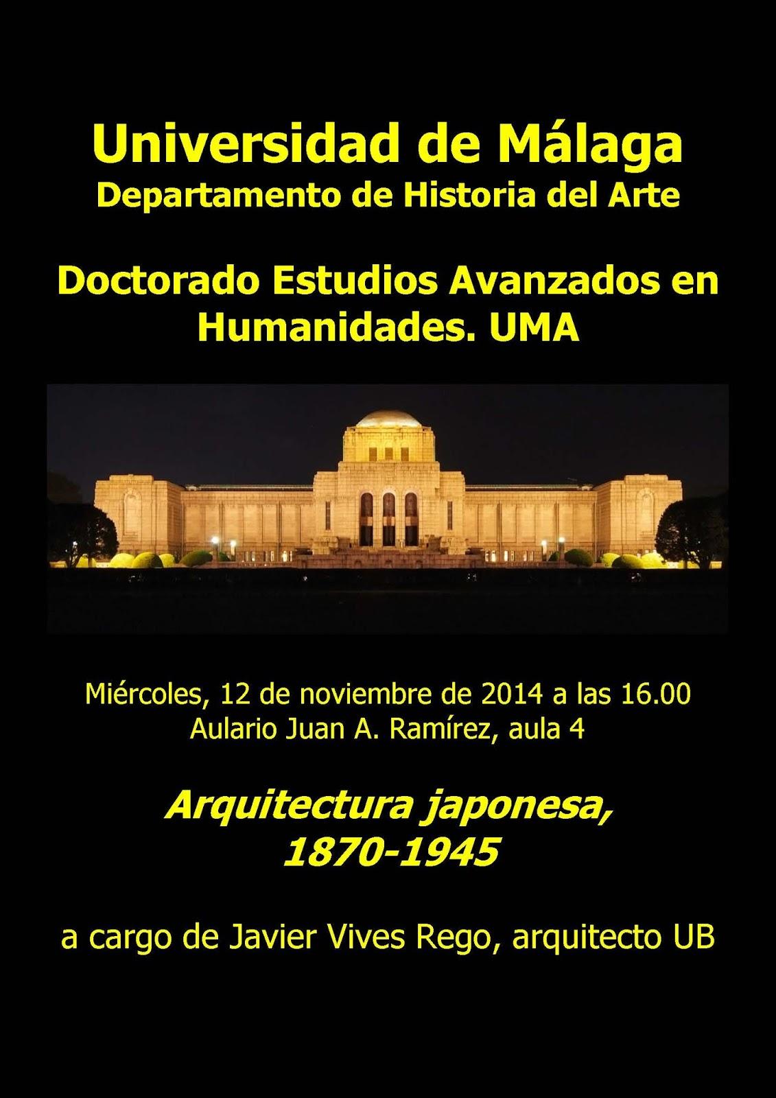 Jap n cultura y arte curso de doctorado en la - Estudios de arquitectura en malaga ...