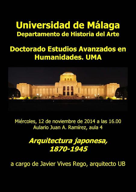 Jap n cultura y arte curso de doctorado en la for Cursos de arquitectura uni