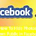 Facebook Hide Photos