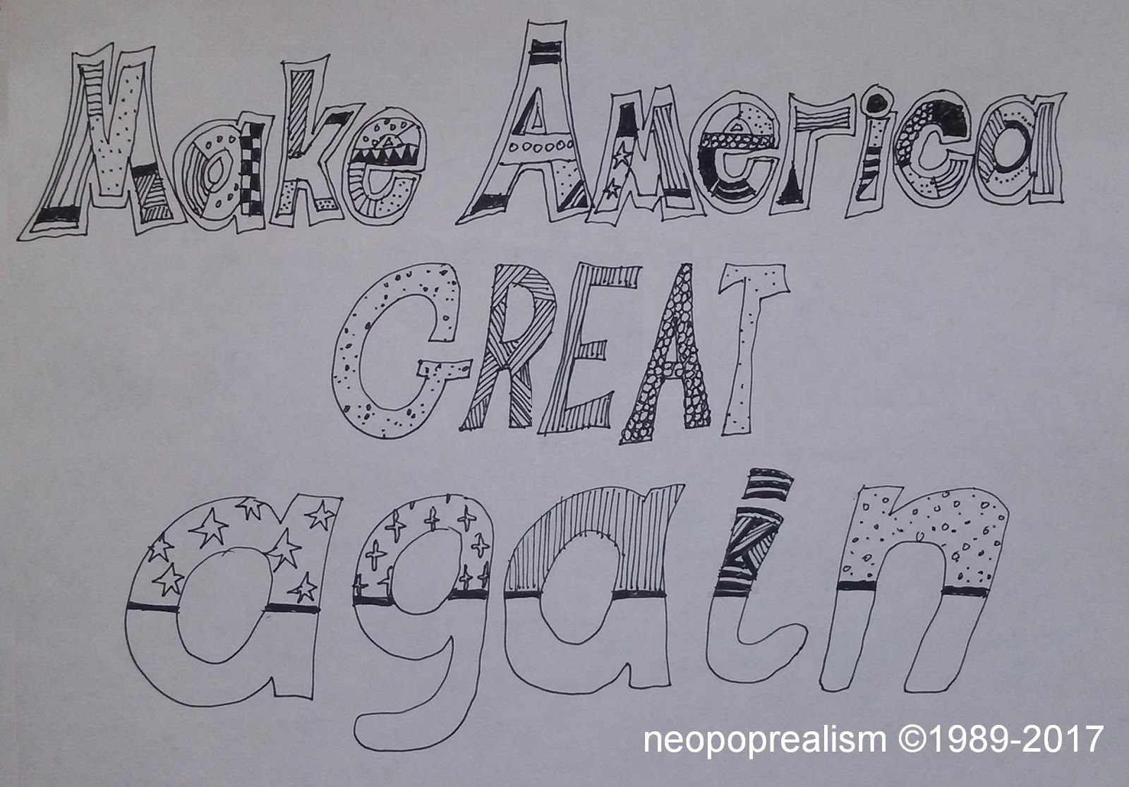 Art Lesson Plans Neopoprealism Ink Pen Pattern Drawing