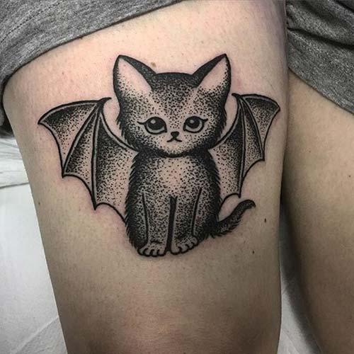 kedi dövmeleri cat tattoos 59