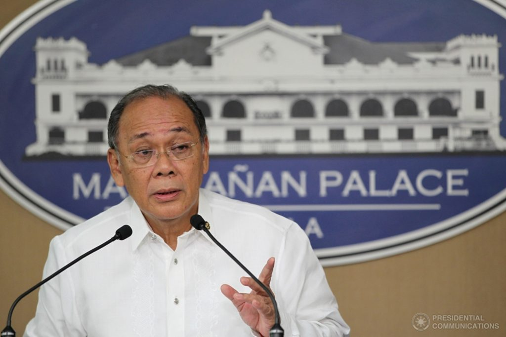 Palace suspends gov't work, public schools classes on September 21