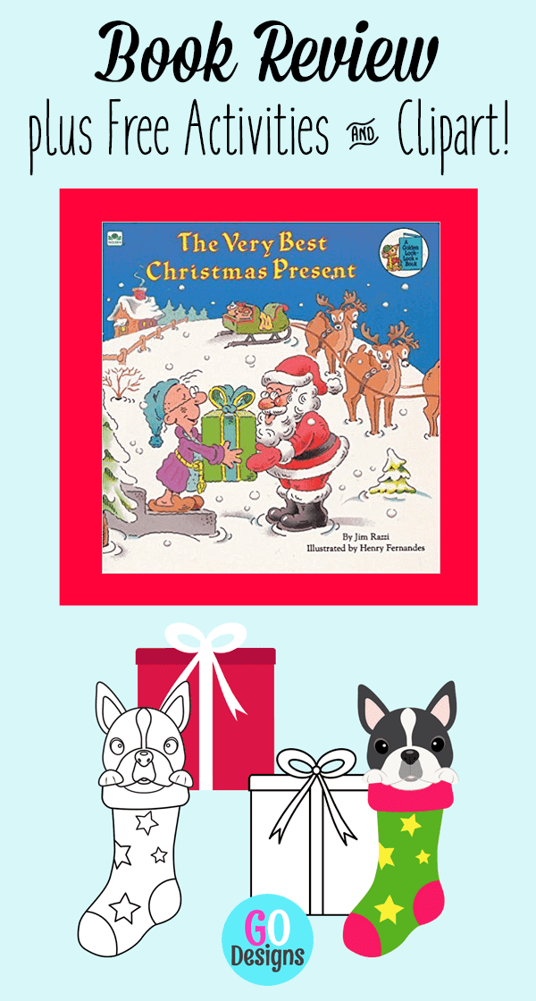 Book Review plus free activities and a clipart gift. The Very Best Christmas Present is a sweet story ~ perfect for the little kids in your life!