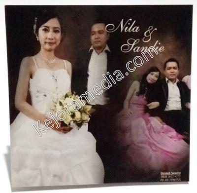 harga undangan pernikahan foto kuningan