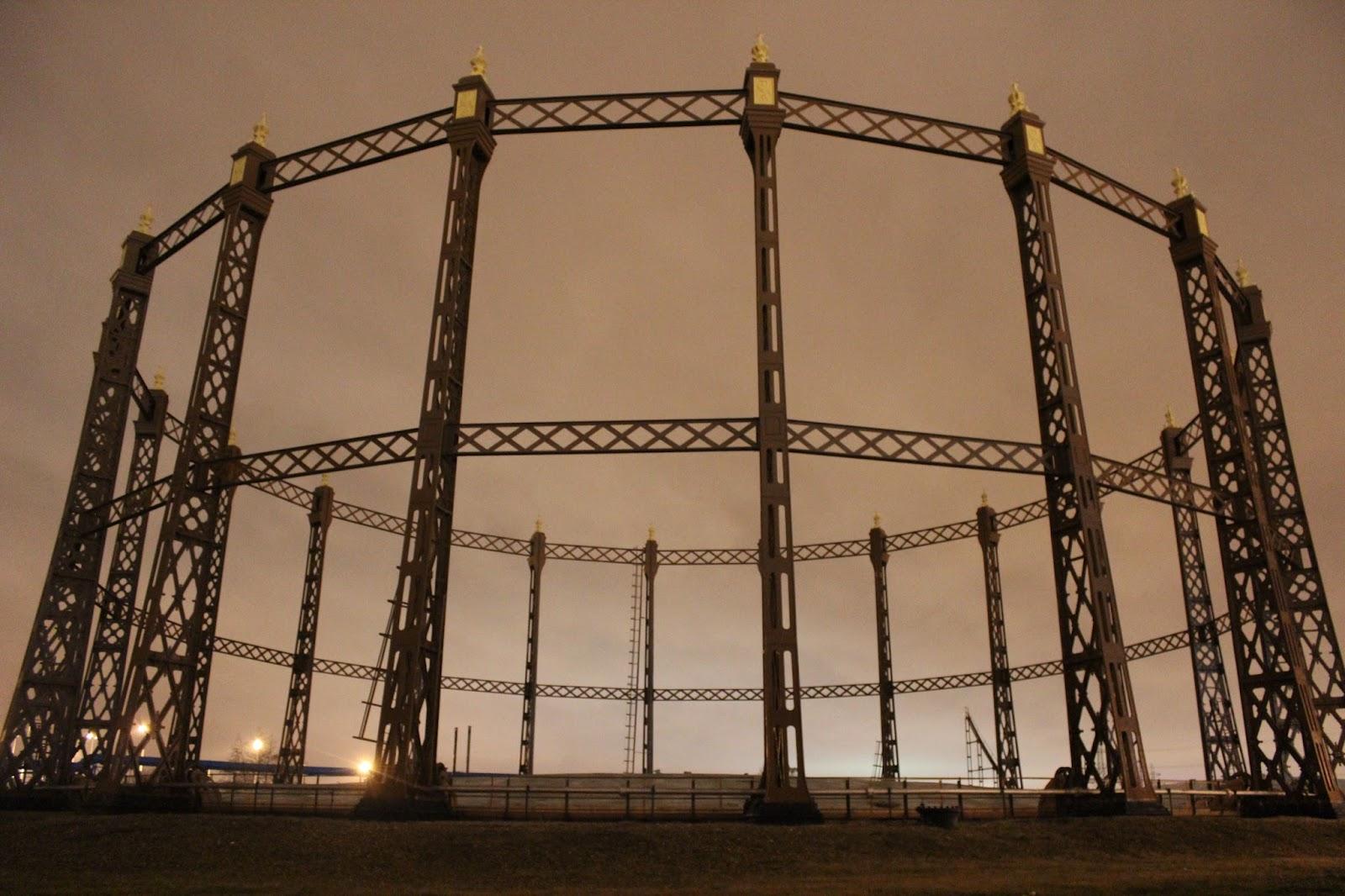 Beckton Gas Holder, London   The Urban Adventures of Keïteï
