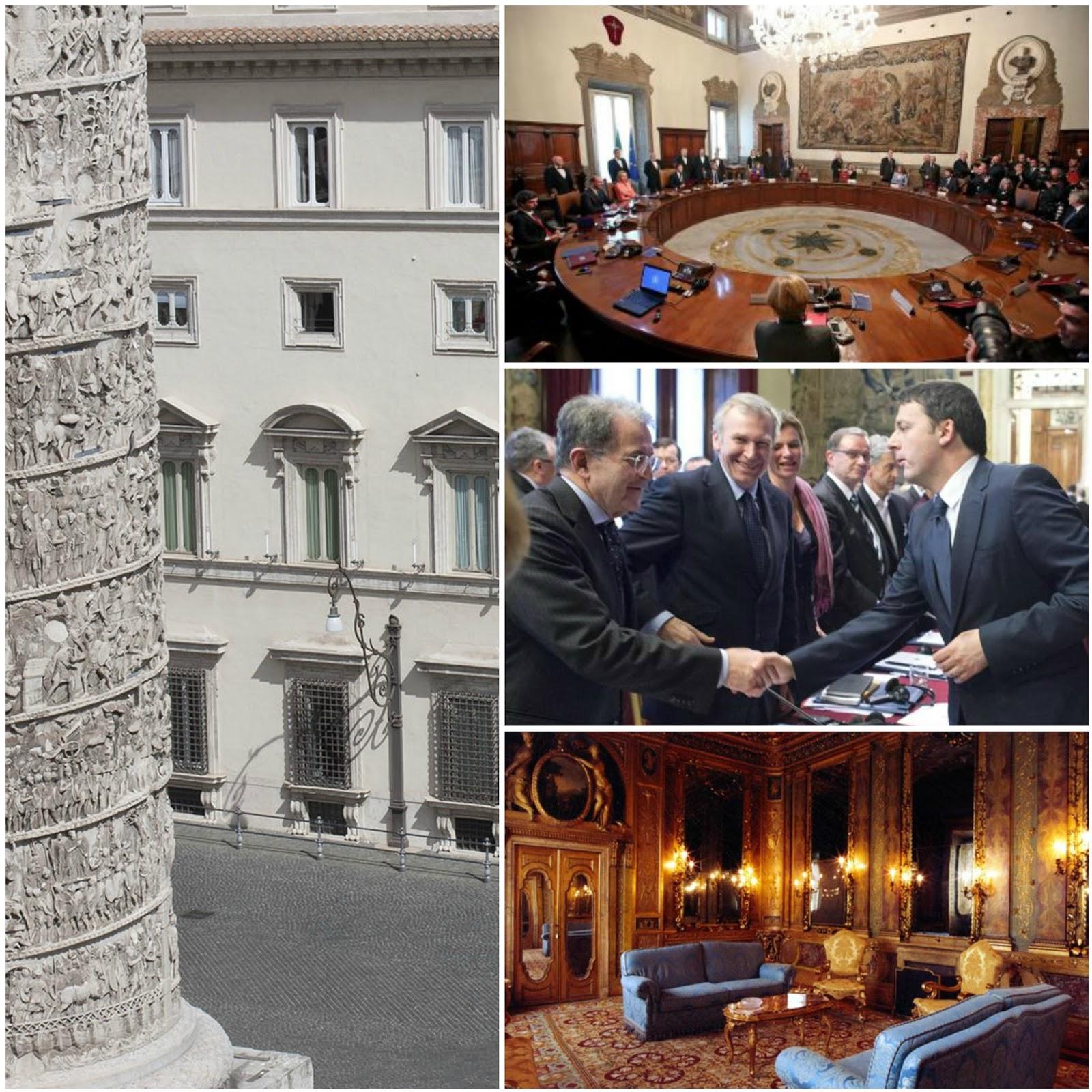 """Palazzo Chigi  e le sale della Presidenza del Consiglio *Visita guidata del palazzo con apertura """"straordinaria"""""""