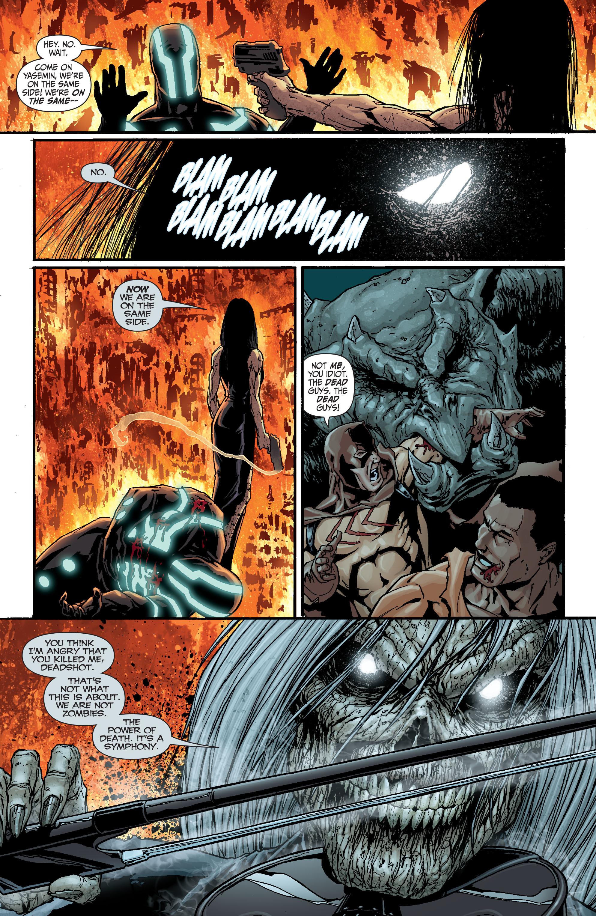 Read online Secret Six (2008) comic -  Issue #18 - 16