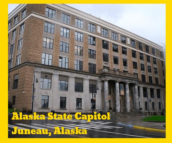 Alaska State Capitol Building Juneau Alaska