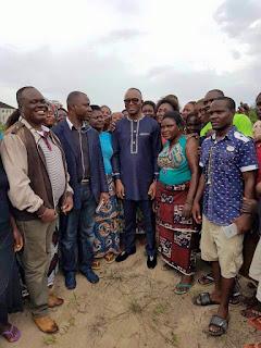 Petroleum Minister, Ibe Kachikwu visits Maritime University site