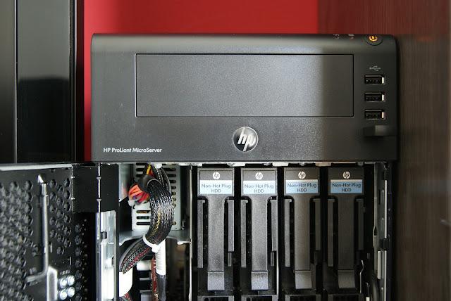ProLiant MicroServer N40L (N54L) con 4 bahías de disco para NAS