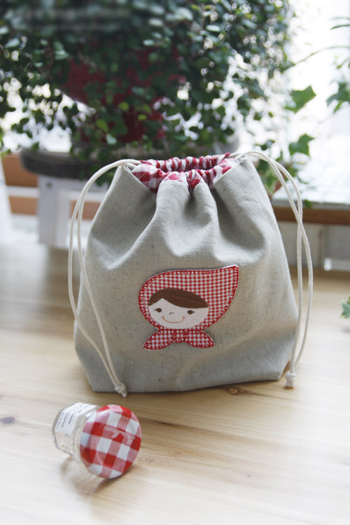 Drawstring Bag Tutorial, Gift Bags. Idea Drawstring Pouch. Pattern + DIY in Pictures.