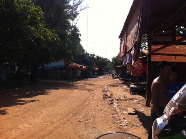 Motorbike Riding in Cambodia