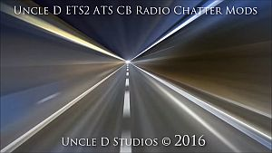 Uncle D ETS2 ATS CB Radio Chatter Mods