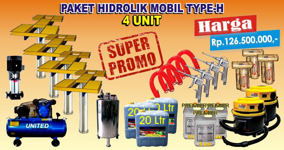Paket Hidrolik-H (4 Unit)