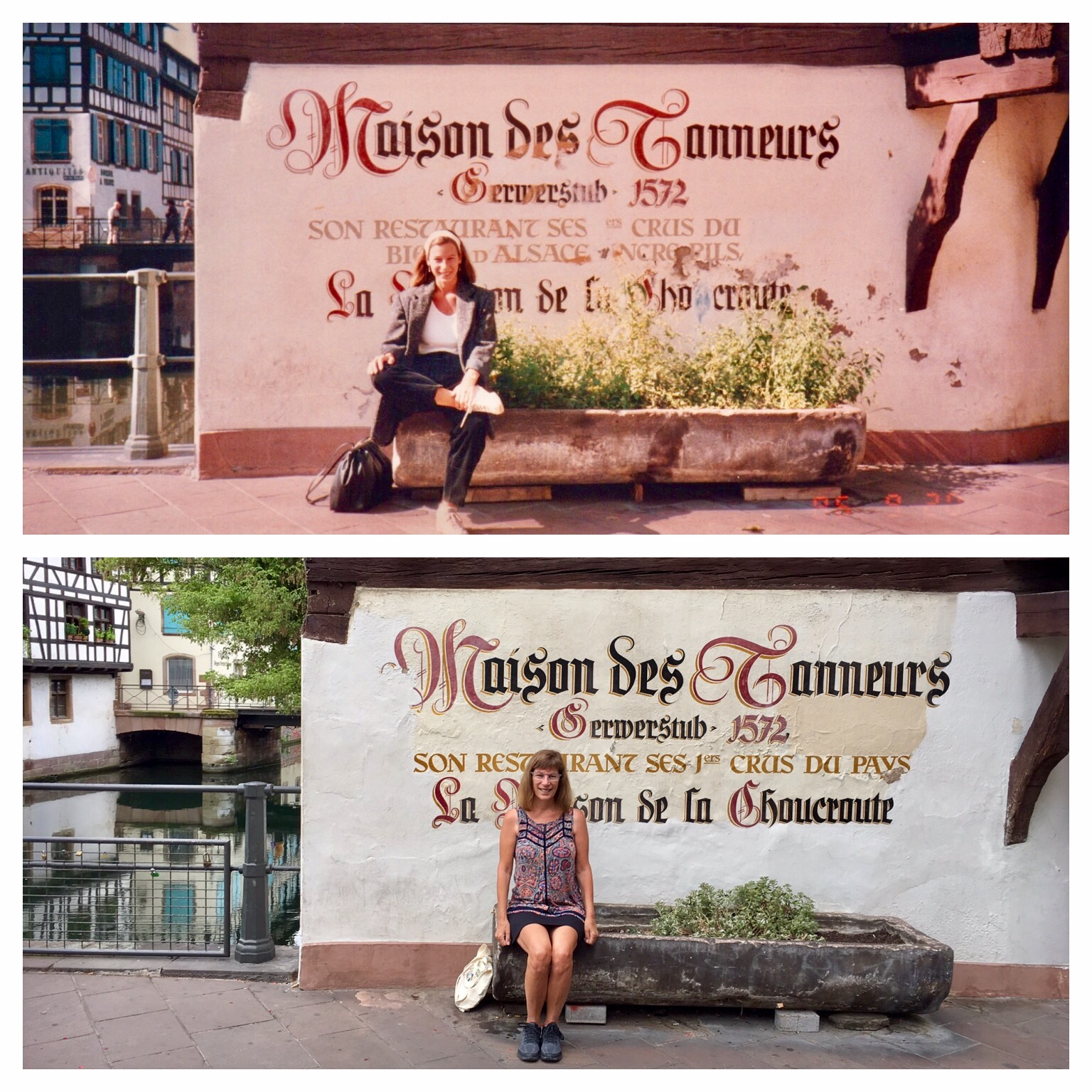 Now And Then Advertising Photograph >> Then And Now Same Location But Thirty Years Later Lisa Werner