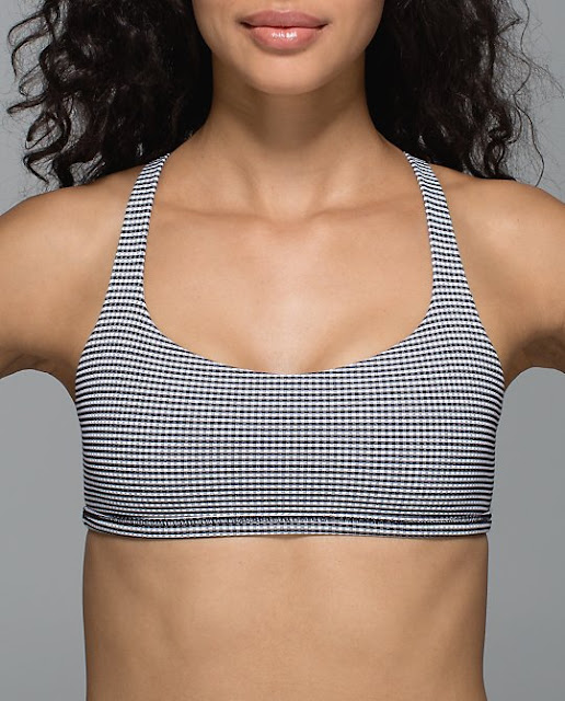 lululemon-gingham free-to-be-wild-bra
