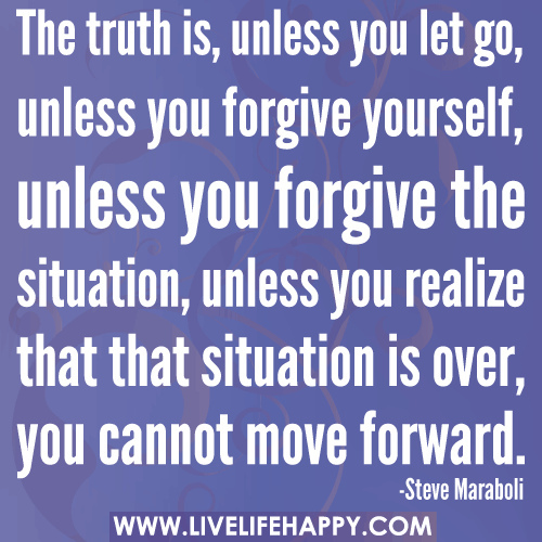 Forgive Yourself Quotes: Alli Mack's Musings