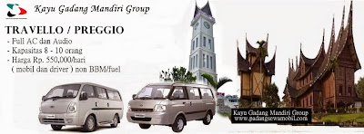 KGM rental mobil di Padang