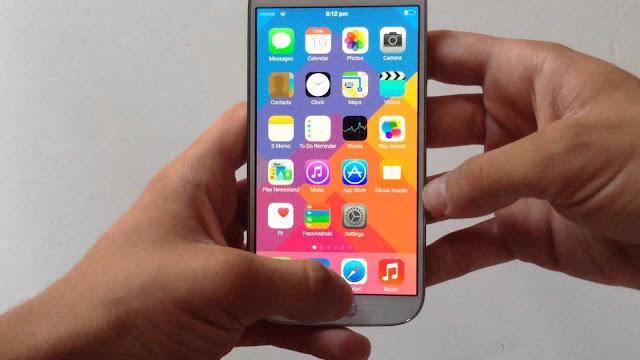 حول هاتفك أندرويد الى ايفون iOS بكل سهولة | بدون روت