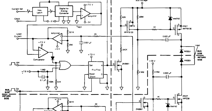 Wiring panel: Simple Power Switching Circuit Diagram