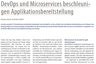 Devops und microservices accelerate application delivery
