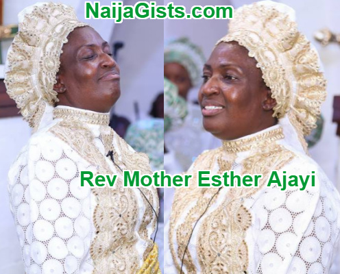 rev mother esther ajayi dupe nigerians
