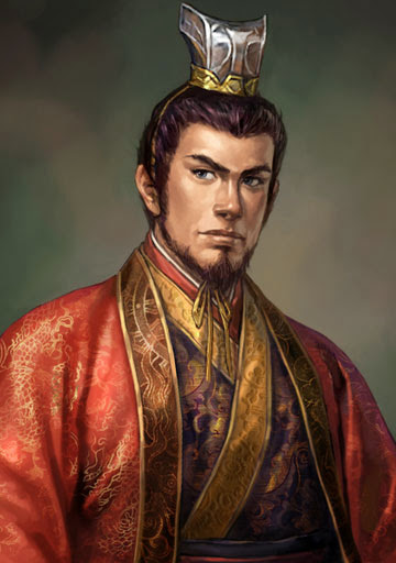 Chapter 29 : The Little Chief Of The South Slays Yu Ji; The Green Eyed Boy Lays Hold On The South Land.