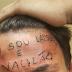 Homem é preso após tatuar 'eu sou ladrão e vacilão' na testa de jovem