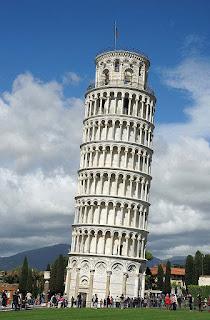 صورة برج بيزا المائل - ايطاليا