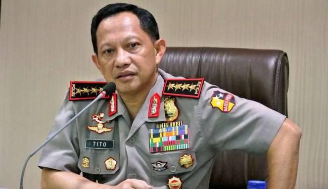 Tito Karnavian Diberi Penghargaan Sebagai Polisi Berani