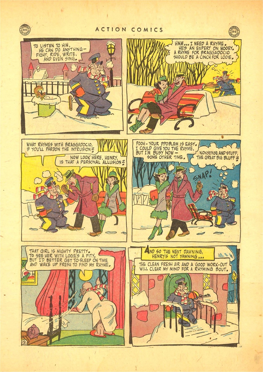 Read online Action Comics (1938) comic -  Issue #87 - 16