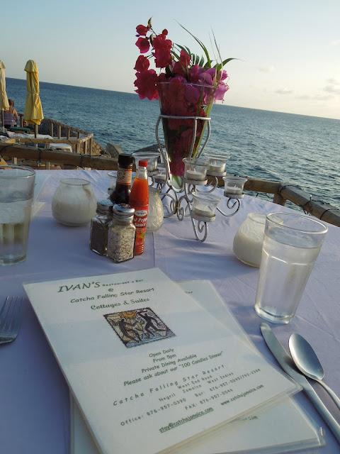 Ivan's menu